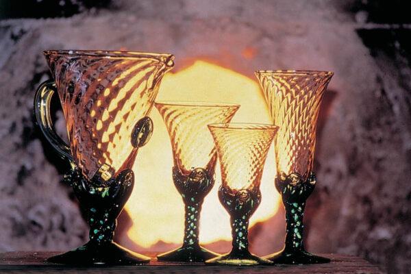 copas-vidrio-soplado-gordiola-copa-infanta-cristina-verde-transparente