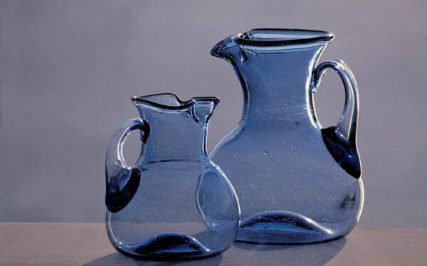 jarras-vidrio-soplado-gordiola-jarra-poseidonia-azul