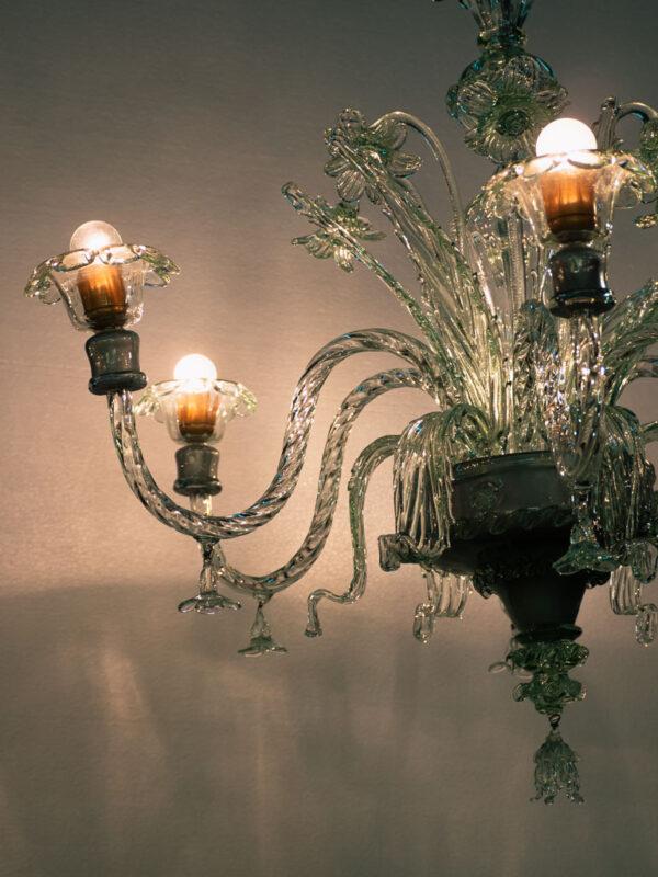 lamparas-de-vidrio-soplado-gordiola-lampara-pompeya-transparente-6-luces